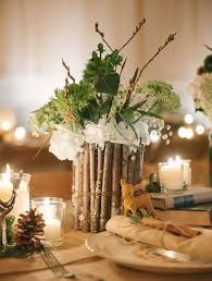 Western Style Centerpieces by Woodland Wedding Ideas Hotref Party Gifts
