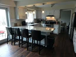 t shaped kitchen island design u ideas with dimensions