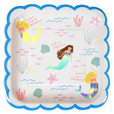mermaid party supplies mermaid party emerson sloan houston modern party supplies