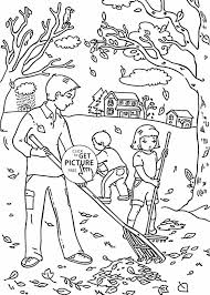 kids printables happy leaves coloring sheets fall coloring