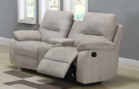 homelegance marianna double reclining love seat with center