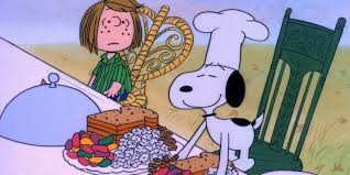 happy thanksgiving gifs a 40 year thanksgiving feast peanuts style huffpost