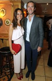 pippa middleton and james matthews make first public appearance