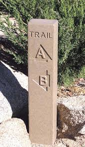 jeep trail sign trail signs trail markers u0026 trail posts outdoor routered signs
