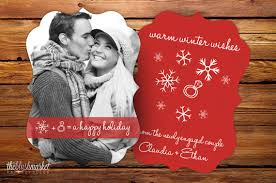 engagement announcement cards announce your engagement with a card holidays engagement