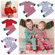 2017 fall winter pajamas children family matching pajamas