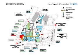 Good Map Good Hope Site Map Heart Of England Nhs Foundation Trust