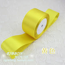ribbons wholesale 22meter lot 2 50mm yellow satin ribbons wholesale gift wedding