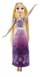disney princess royal shimmer rapunzel doll toys