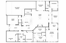 single story home floor plans one story bedroom house collection and charming 4 single floor