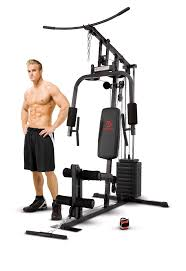 Home Gym by Marcy Home Gym With 100 Lb Single Stack Fitness U0026 Sports