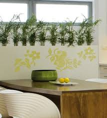 home decor line buy vinyl green nature wall sticker by home decor line