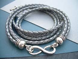 braided leather bracelet women images Womens leather bracelets urbansurvivalgearjewelry artfire shop jpg