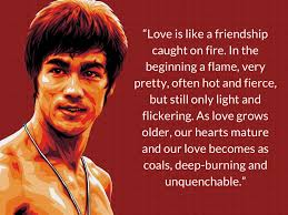 quotes about love latest bruce lee quotes about love the best love quotes