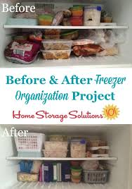 Home Storage Solutions 101 Organized Home How To Organize Your Freezer Real Life Ideas U0026 Solutions