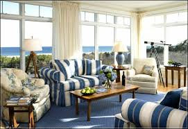 Sunroom Sofa Remarkable Sunroom Furniture Featuring Design And Striped Blue