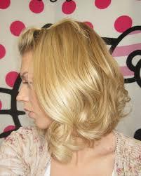 utube bump hair in a bob sam schuerman loose romantic curls with a bang bump