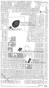 floor plan of a mosque tijâni shrines eric ross academic
