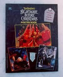 1993 original disney nightmare before poster book ebay