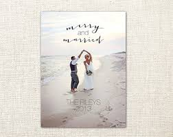 married christmas cards merry and soon to be married save our date all we want for