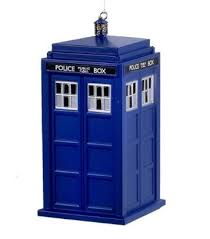 dr who tardis ornament shop retro active