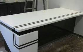 Corian Top Center Table at Rs 650 square feet  Decorative Center
