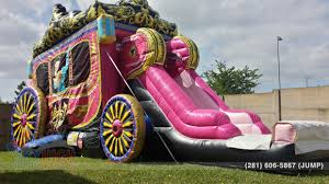 halloween bounce house rentals princess carriage moonwalk houston tx sky high party rentals