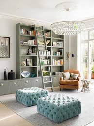 amazing reading room with comfy leather reading chair and modern
