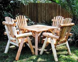 Log Outdoor Furniture by Epic Log Patio Furniture 42 For Your Home Decoration Ideas With