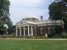 Monticello Jefferson S Home by Grave Of Thomas Jefferson Mapio Net