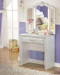 White Vanity Table With Mirror Bedroom Small Dressing Table With Mirror Makeup Table With