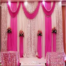 wedding backdrop for pictures 3m 4m 3m 6m 4m 8m wedding backdrop swag party curtain celebration