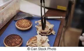 cuisiner chignon frais hamburger stove jeûne nourriture chignons gants métrage