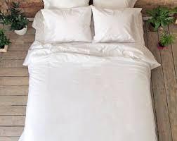 Organic Cotton Duvet Cover Cotton Duvet Cover Etsy