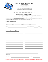 personal information release form template 28 images