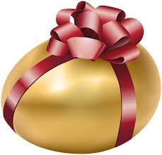 gold easter egg golden easter egg clipart png clipground