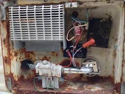 fifth atwood water heater board replacement in toyota camper