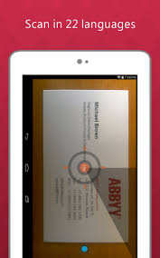 App For Scanning Business Cards 5 Free Business Card Scan Store Apps For Android Ios And Windows
