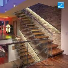 handlauf fã r treppen steel studio staircase with frameless glass balustrades and timber
