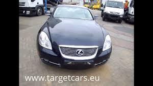 lexus lfa for sale rhd 750949 lexus sc430 aut cabrio 4 3l v8 286hp 03 07 blue 54365miles