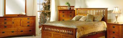 quarter sawn oak mission craftsman ca king slat bed 1 499 00