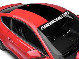 Mustang Black Roof American Muscle Graphics Mustang Roof Panel Decal Black 386521