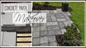 Done Deal Patio Slabs Using Cheap Concrete Block You Can Create The Look Of Stone