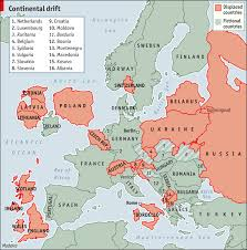 netherlands location in europe map redrawing the map the economist