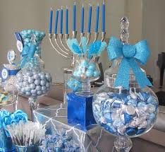 hannukah candy blue and silver candy for hanukkah candy bar holidays hanukkah