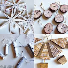 the scandinavian tree ornaments