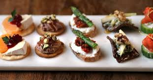 canape toast in our backyard whip up a platter with canapés