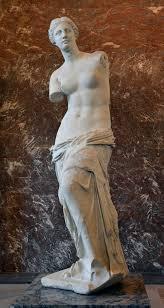 statue with venus de milo