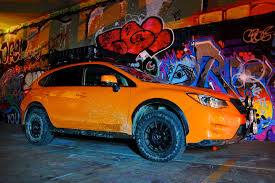 subaru orange crosstrek subie noob brian here with a rallyx xv crosstrek