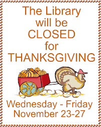 closed for thanksgiving sign
